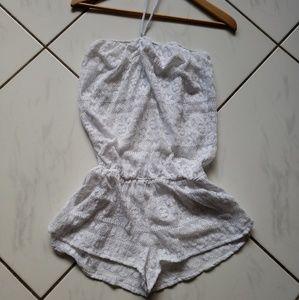 Victorias Secret Lace Swimsuit Swim Cover romper